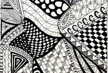 zentangle ideas / by Kathy Iannantuoni Renna