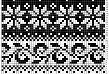 Узоры для машинного вязания