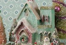 miniature cottage house