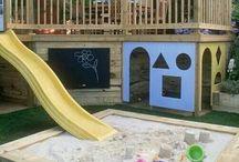 Kiddies outdoor spaces
