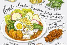 food & food illustration