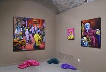 """Opening """"Doppio Gioco"""" - Andrea Zucchi / Some pictures from the opening of the exhibition """"Doppio Gioco"""" - Palazzo delle Stelline, Milano"""