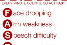Signs of a Stroke / Do you know how to recognize if a person is having a stroke?  Would you know what to do?