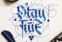 Calligraphy English