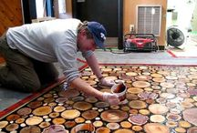 wood flooring and epoxy