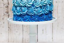 Kék sütik/Blue cookies