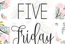 Take Five Friday