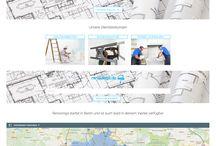 Webdesigns / Hier könnt ihr einige Seiten anschauen die wir bisher für verschiedene Kunden erstellt haben.