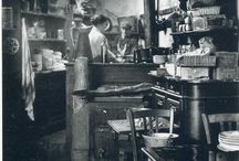 History's Hearth / Images of kitchens from the past.
