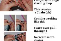 Learning to crochet  / by Kayla Clark