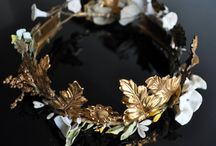 Millinery Flower Inspiration / The work of milliners - handmade hats, flowers and fascinators.