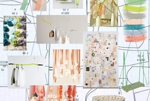 #4 Designers Inspiration / The collection of moods and fabric ideas for the Interior of the store