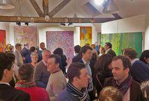 Art Aborigène - vernissage et visites 2015 / Art Aborigène d'Australie. Peintures d'Art Aborigène. Events. Opening gallery. Vernissage.