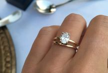 Lady's Engagement & Wedding Rings