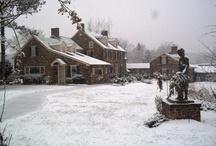 Pearl S. Buck House Through the Seasons