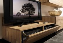 TV Wall unit set up