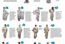 How to dress kimono