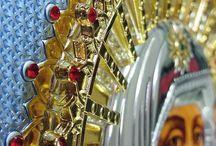 SILVER ICONS / icone ortodosse in argento con serigrafie originali