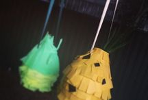 Pinatas made by me / I love Pinatas & wanted to share these with you.