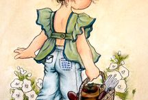 открытки дети ,с днем рождения ,рисунки