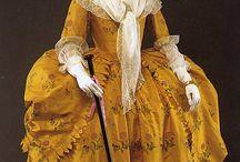 Costumes d'époque / vêtements, accessoires des XVIII et XIX siècles