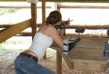 On The Range / Sexy Girls with Guns on the Range!