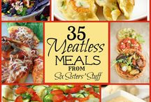 Meatless meals / by Kelly Heid