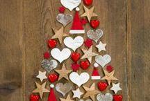 téli, karácsonyi dekor