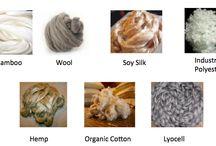 Different eco-friendly fibers