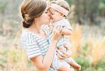 inšpirácie na foto s bábätkom