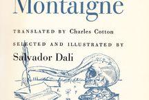 Montaigne / Dali illustreert de Essays van Montaigne.