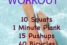 Workouts. / Alle meine Lieblingspost, die mit gesunden leckeren Sachen zu tun haben.