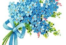papier  blue