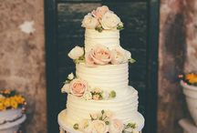 Wedding cakes / The wedding cake is one of the protagonists of the wedding day: American, multi-storey or pyramid.