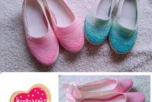 my crochet shoes/ horgolt cipők