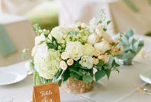 wedding flowers & palette.