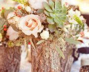 Country/Rustic/Forest Wedding / One day I'll get married, and when I do it will likely be a rustic or country wedding.