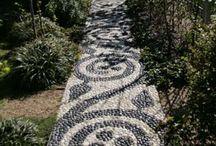 garden path & driveway