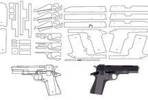 Armes de bois