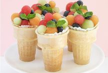 Sinful Desserts - with Fruit