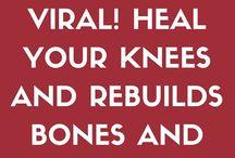 Knee joint healing
