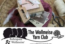 The Wollmeise Yarn Club / BE A PART OF OUR WOLLMEISE YARN CLUB. FEEL YOURSELF AS BRAVE, COURAGEOUS, WILFUL, GIFTED, SPECIAL AND EXTRAORDINARY AS OUR 4 WOMEN, WHO ARE THE THEME OF OUR YARN CLUB!