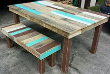 Pallet furniture / Ideas for Greg