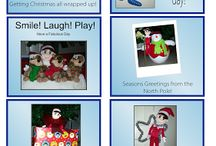 Elf on the Shelf Ideas, Printables & Photo Props / #ElfOnTheShelfIdeas #ElfontheShelfPrintables  #ElfontheShelfStickers #ElfontheShelfCostumes #ElfontheShelfDressUps #ElfontheShelfPhotoProps #CreativeKids #ChristmasTradition #Stickercessories