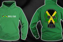 Hoodie Skul Flag / Flag mount in Skull for Hoodie CLICK TO FIND MORE www.sunfrog.com/Elvan3000/Skull-Flag_Tshirt