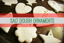 Dough ornaments / Design