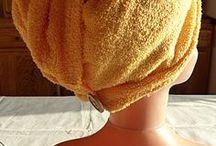 coiffé sortie de bain