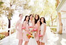 Bridesmaids and Bouquets / by Samantha Taylor Pellegrino