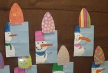 Kinder Art / Art ideas for kindergarten