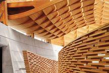 Architectuur / Hout